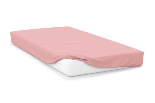Mattress Depth 28cm Bunk Bed 26, Blush 200 Thread Count Percale Belledorm Pink Fitted Sheet Housewife Pillowcase Bundle Set