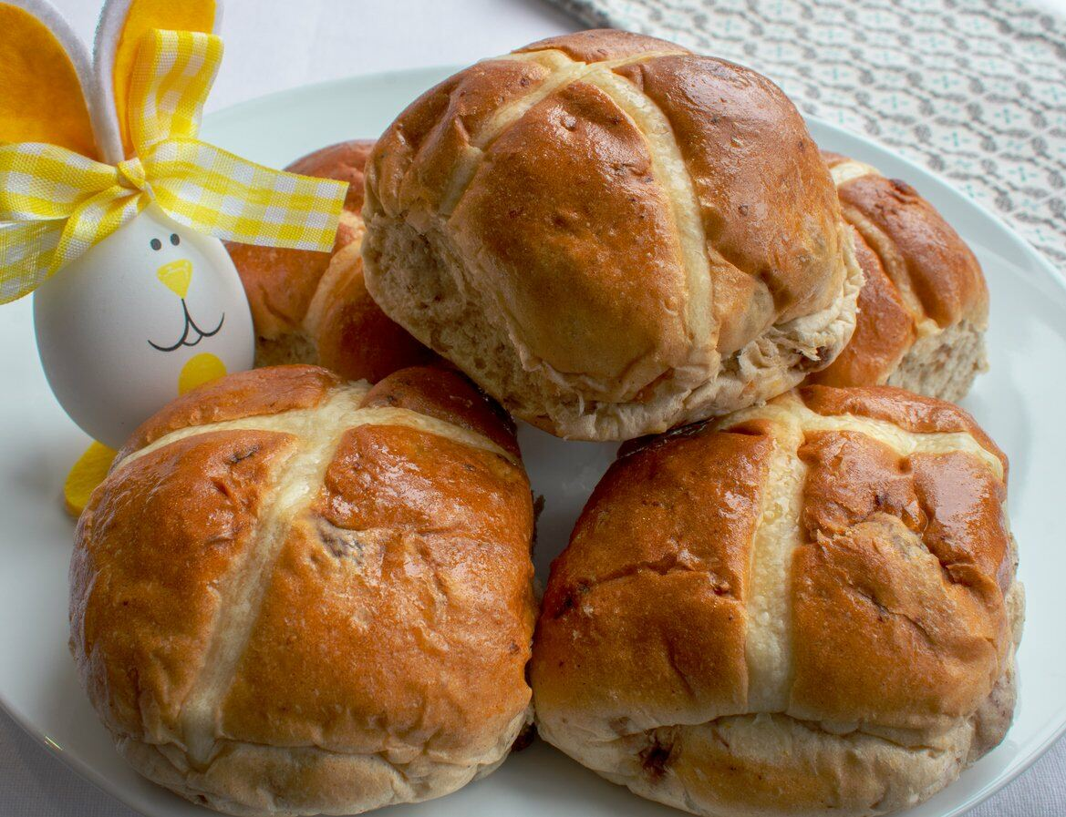 Hot Crossbuns for Easter Party