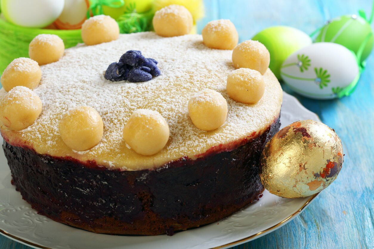 Simnel Cake for Easter Party